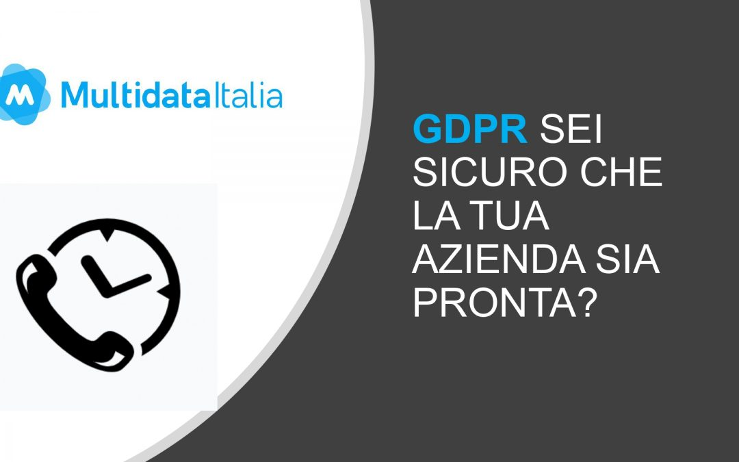 GDPR: Il Gestionale Privacy