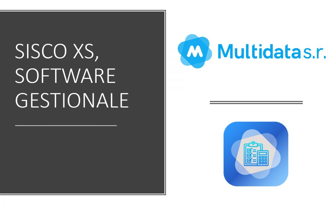 Sisco xs, il software gestionale